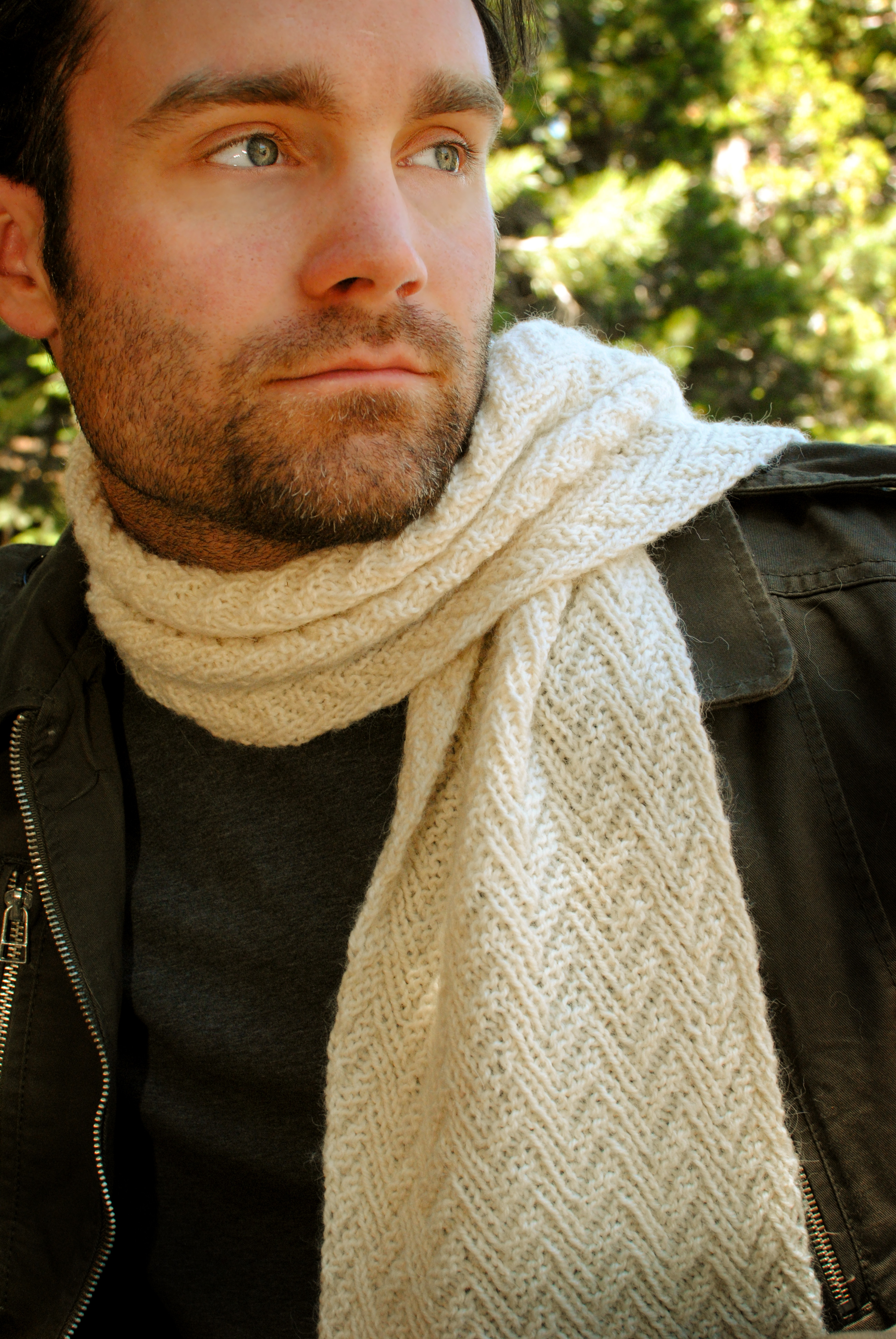 Herringbone Parallelogram Scarf Pattern is up for sale today – Our ...